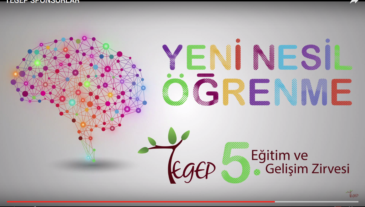 TEGEP TV ve TEGEP 5. EĞİTİM VE GELİŞİM ZİRVESİ'nin sponsoruyuz